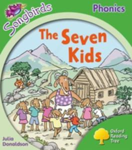 Oxford Reading Tree: Level 2: More Songbirds Phonics: The Seven Kids - 2844445532