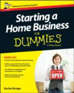 Starting A Home Business For Dummies - 2839961247