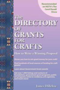 Directory Of Grants For Crafts And How To Write A Winning Proposal - 2852924727