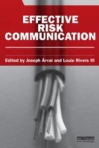 Effective Risk Communication - 2840075859