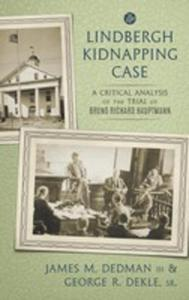 The Lindbergh Kidnapping Case - 2849008209