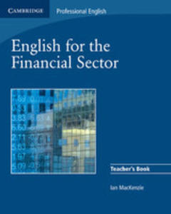 English For The Financial Sector Teacher's Book - 2839873216