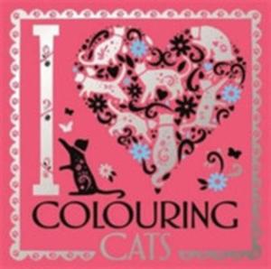 I Heart Colouring Cats - 2840432778