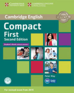 Compact First Student's Book Without Answers + Cd - 2840057937