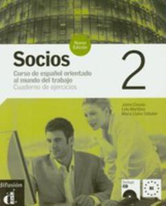 Socios 2 Cuaderno De Ejercicios Z Płytą Cd - 2839333381