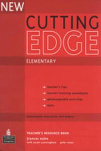 New Cutting Edge Elementary - Teacher's Book Plus Test Master Cd-rom [Książka Nauczyciela Plus Test Master Cd-rom] - 2839265945