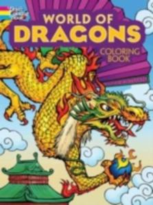World Of Dragons Coloring Book - 2845343045