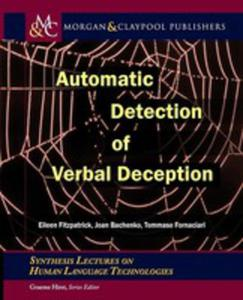 Automatic Detection Of Verbal Deception - 2840394865