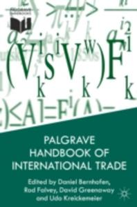 Palgrave Handbook Of International Trade - 2840071478