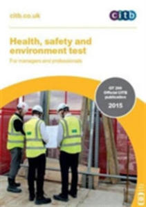 Health, Safety And Environment Test For Managers And Professionals - 2840239857