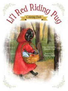 Li'l Red Riding Pug - Coloring Book - 2849954588