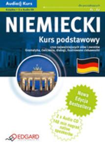 Niemiecki. Kurs Podstawowy A1-a2. Audio Kurs (Książka + 2 Cd Mp3). Nowa Edycja - 2839218784