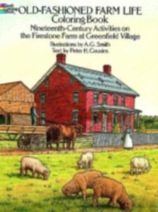 Old - Fashioned Farm Life Colouring Book - 2845334077