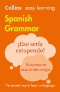 Easy Learning Spanish Grammar - 2840245475