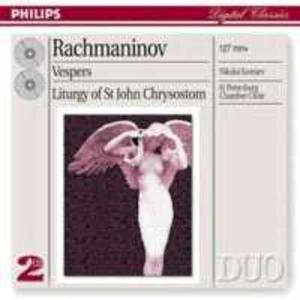 Rachmaninoff: Vesperes - 2839208569