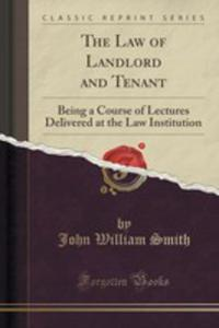 The Law Of Landlord And Tenant - 2854005680