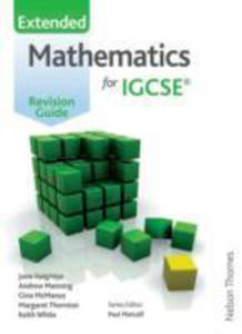 Mathematics For (Cambridge) Igcse Extended Revision Guide - 2839942445