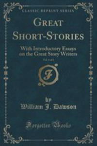 Great Short-stories, Vol. 1 Of 2 - 2852891153