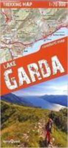 Trekking Map Jezioro Garda 1:70 000 - 2840168325