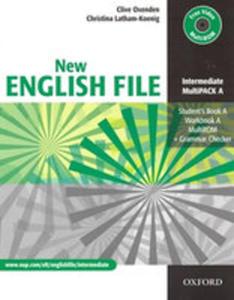 New English File Intermediate Multipack A - 2849899568