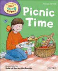 Oxford Reading Tree Read With Biff, Chip And Kipper: First Stories: Level 2: Picnic Time - 2856598715
