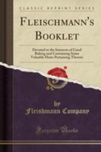 Fleischmann's Booklet - 2855802481