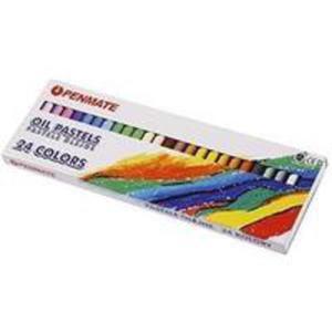 Pastele Olejne 24 Kolory Penmate - 2856362366