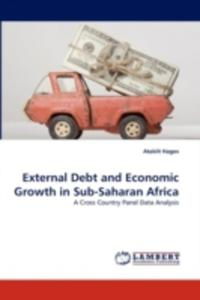 External Debt And Economic Growth In Sub - Saharan Africa - 2870728995