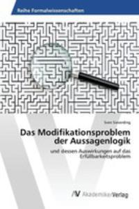 Das Modifikationsproblem Der Aussagenlogik - 2857267501