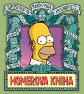 Simpsonova Knihovna Moudrosti: Homerova Kniha - 2840114940