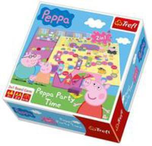 Gra - Peppa Party Time Trefl - 2840174797
