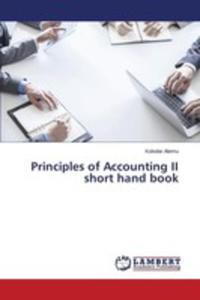 Principles Of Accounting II Short Hand Book - 2857250839