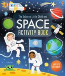 Little Children's Space Activity Book - 2840261090