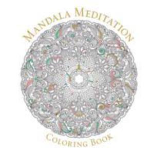 Mandala Meditation Coloring Book - 2840257978