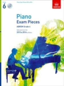 Piano Exam Pieces 2015 & 2016, Grade 6 - 2860093747