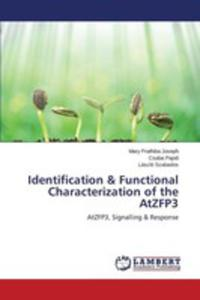 Identification & Functional Characterization Of The Atzfp3 - 2857255633