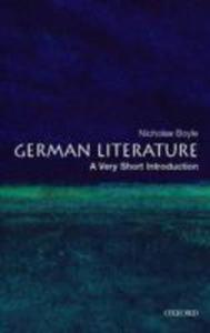 German Literature: A Very Short Introduction - 2844911318