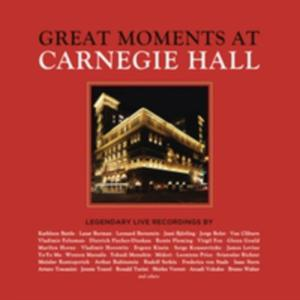 Great Moments At Carnegie Hall / Various (Box) - 2840366038