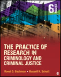 The Practice Of Research In Criminology And Criminal Justice - 2849520324