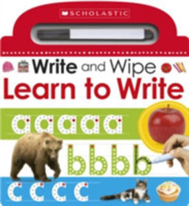 Write And Wipe: Learn To Write - 2848645087
