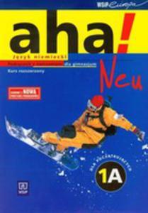 Aha! 1a Neu Podręcznik Z Ćwiczeniami + Cd - 2846719782