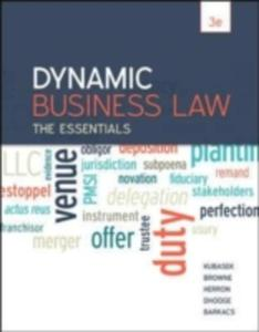 Dynamic Business Law: The Essentials - 2860129850