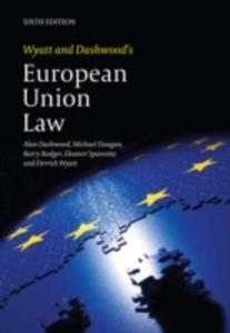 Wyatt And Dashwood's European Union Law - 2840839900