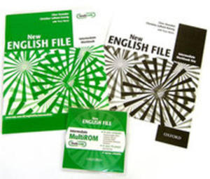 New English File Intermediate Workbook With Answer Booklet And Multirom Pack - 2839634501