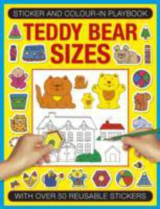Sticker And Color - In Playbook: Teddy Bear Sizes - 2840237063