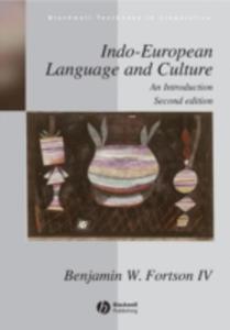 Indo - European Language And Culture - 2839962714