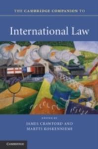 The Cambridge Companion To International Law - 2849914629
