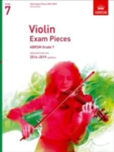 Violin Exam Pieces 2016 - 2019, Abrsm Grade 7, Score & Part - 2863051853
