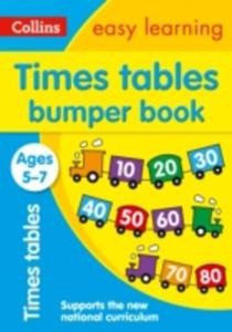 Times Tables Bumper Book Ages 5 - 7 - 2849931180