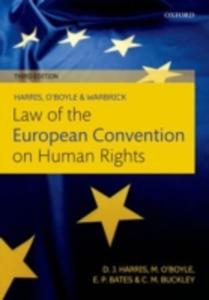 Harris, O'boyle, And Warbrick Law Of The European Convention On Human Rights - 2842396942